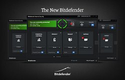 Vzhled programuBitdefender Internet Security