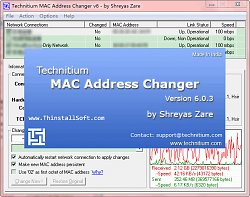AutorTechnitium MAC Address Changer