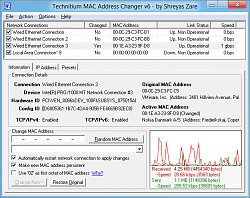 Win8 verzeTechnitium MAC Address Changer