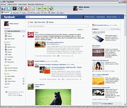 iFB – Facebook interface