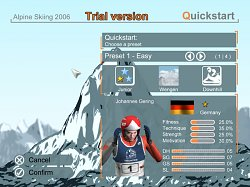 QuickstartAlpine Skiing 2006