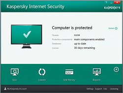 Zkušební verzeKaspersky Internet Security – multi-device 2014