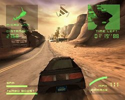 Vzhled hryKnight Rider 2: The Game