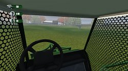Pohled z vozítkaDriving Range Golf Ball Picker-Upper Cart Simulator 2013