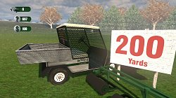 200 yardůDriving Range Golf Ball Picker-Upper Cart Simulator 2013