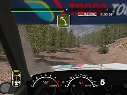 Pohled jezdceColin McRae Rally 2005