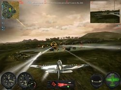 Použití raketCombat Wings: Battle of Britain