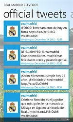 TweetyReal Madrid ClevFoot (mobilní)