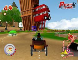 Podivný kočárRacers Islands: Crazy Racers