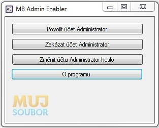 MB Admin Enabler