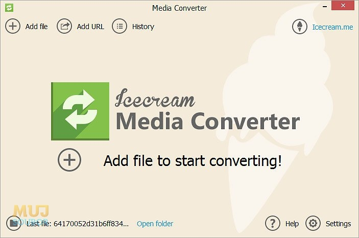 Icecream Media Converter