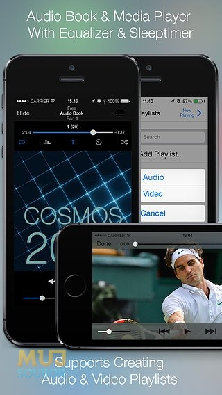 Media player a tvorba playlistů