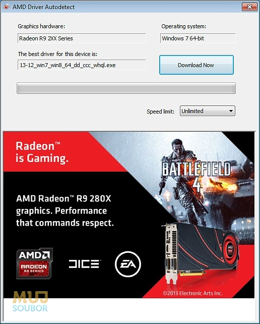 amd auto detect tool page