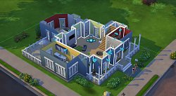 Vzhled domuThe SIMS 4