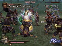 SoubojSamurai Warriors 2