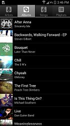 AlbaMusic Player for Android (mobilní)