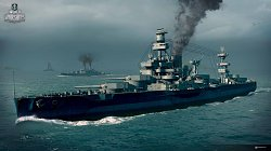 Graficky se hra povedlaWorld of Warships