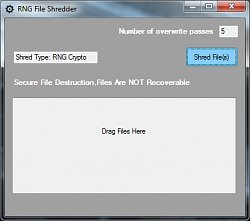 RNG File Shredder