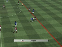 Drogba offsidePro Evolution Soccer 5