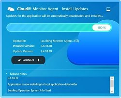 UpdaterCloudiff Monitor Agent