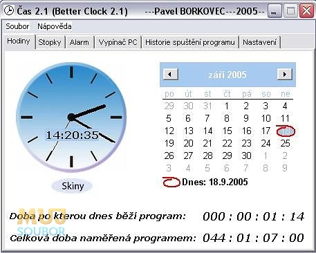 Čas – Better Clock