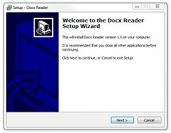 InstalaceDocx Reader