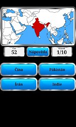 IndieWorld Geography – Quiz Game (mobilní)