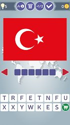 TureckoFlags of the World Quiz (mobilní)