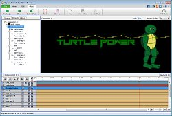 Animace charakteruExpress Animate Software
