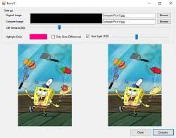 Image Difference Finder