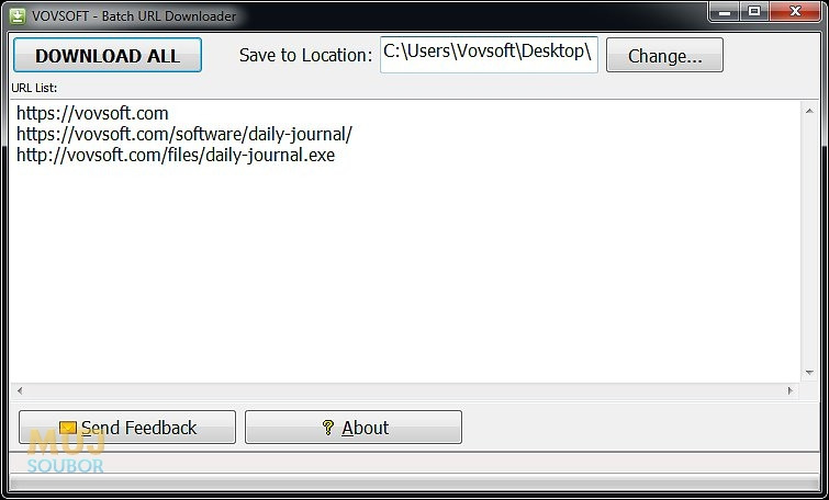 Batch URL Downloader