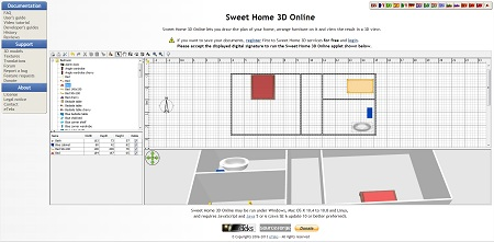 Sweet Home 3D Editor