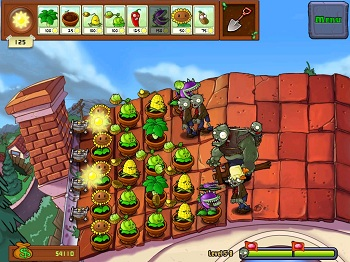 Plants vs. Zombies vzhled hry