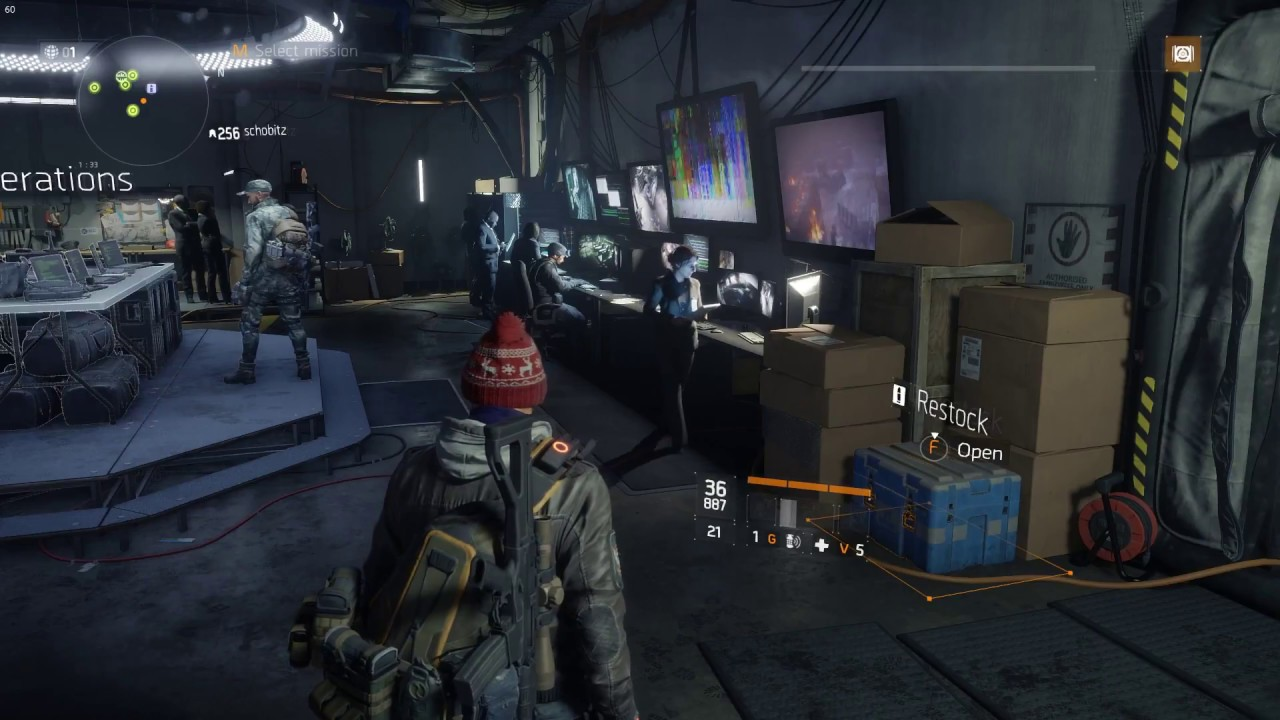 Tom Clancy's The Division Centrum