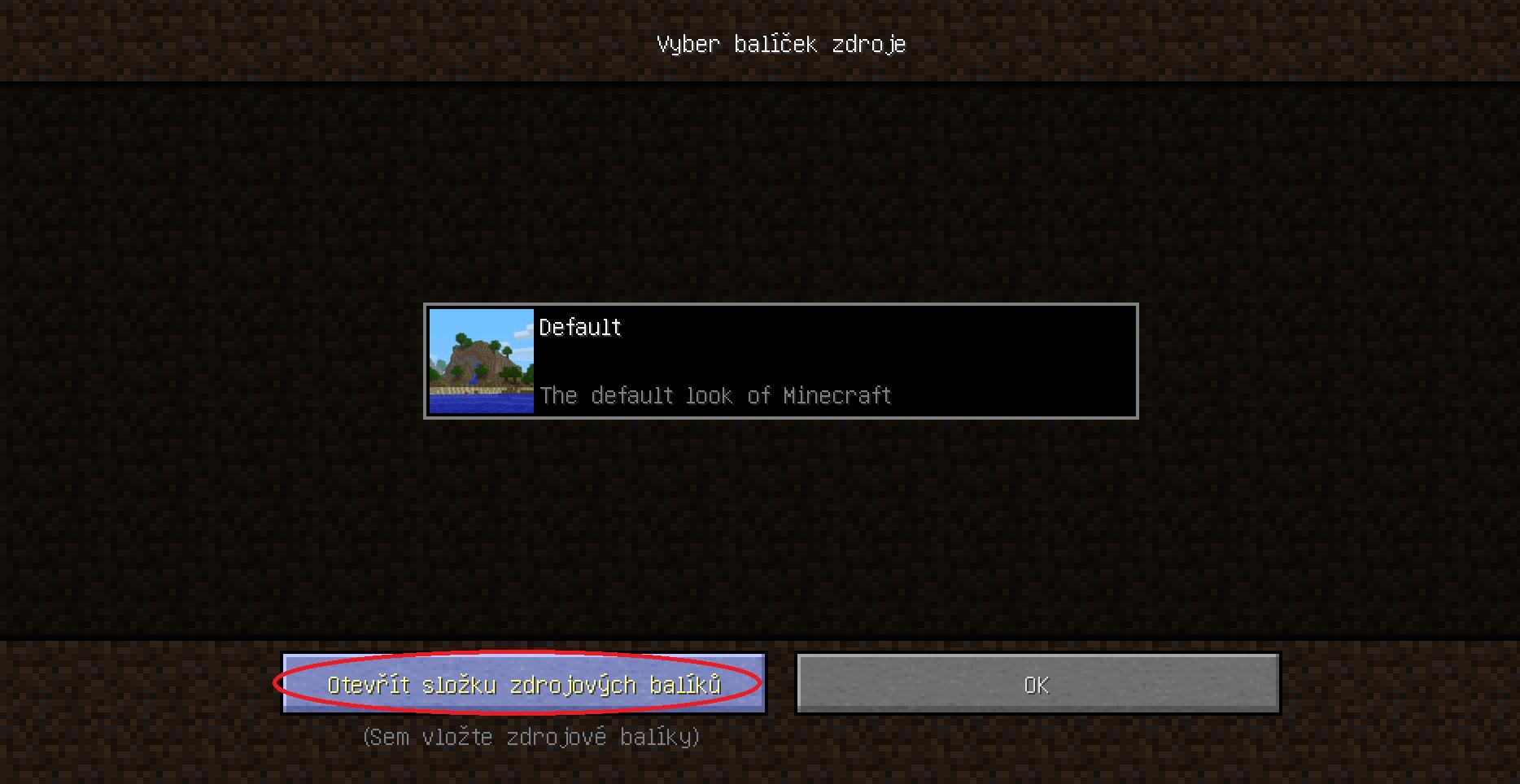 minecraft texture pack ke stažení zdarma