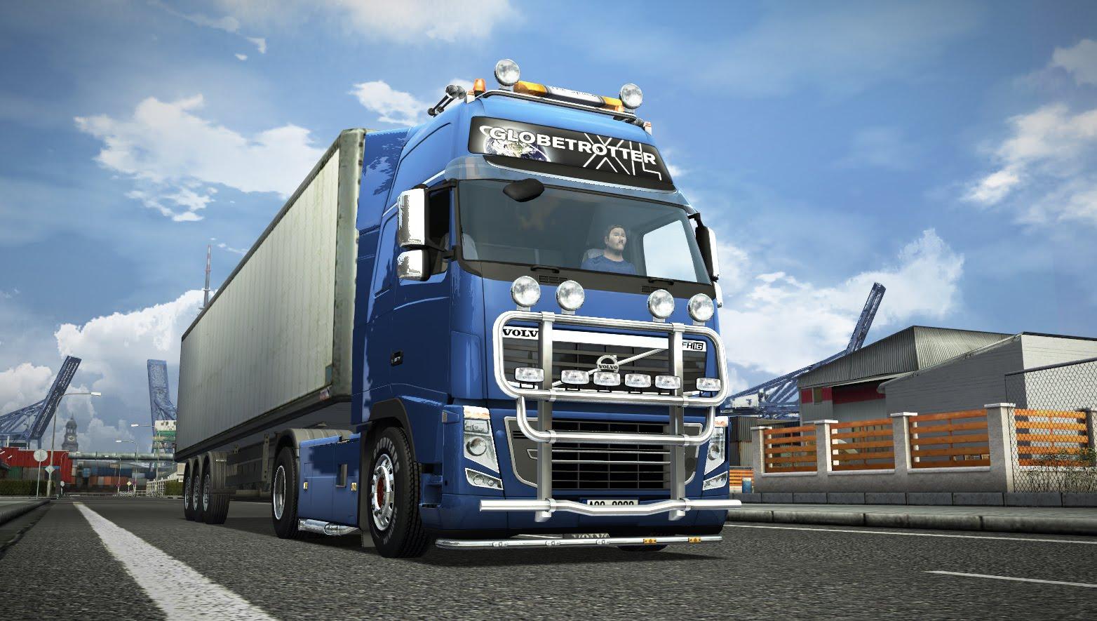 Ježdění s truckem po evropě se díky hře euro truck simulator 2