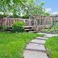 zahradní dvorek