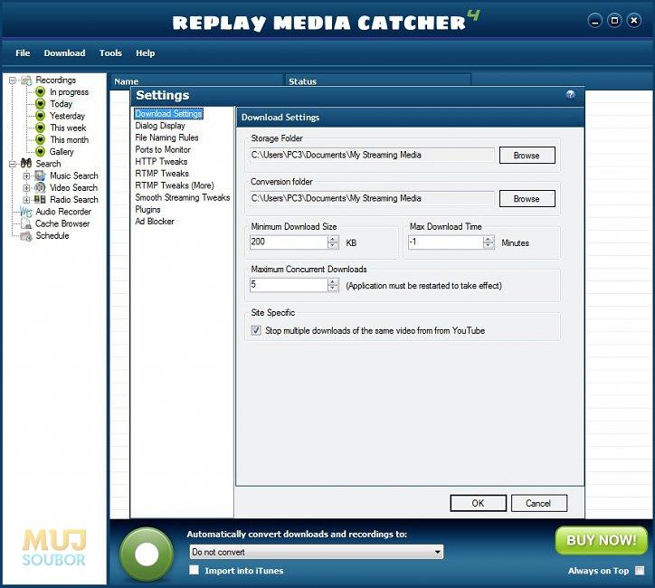 replay media catcher freeware