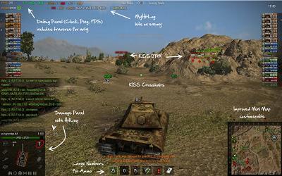 World of Tanks - nejlepší módy a zaměřovače