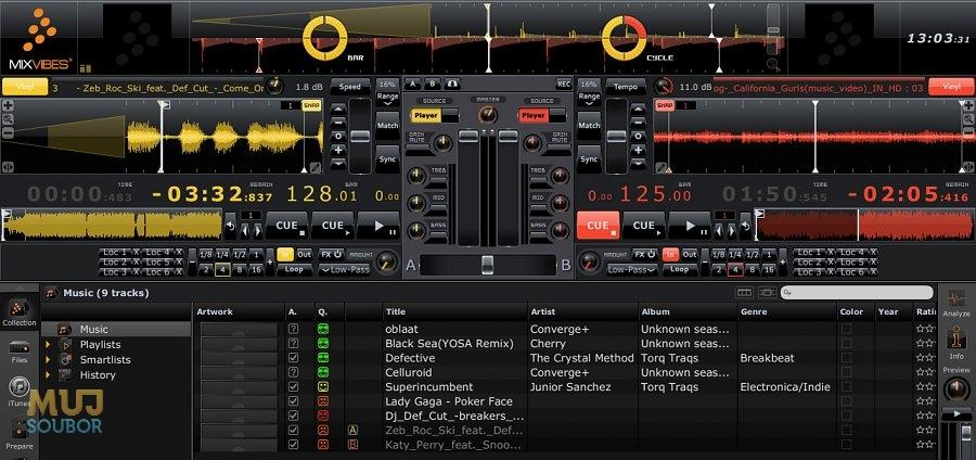 program na mixování hudby ke stažení zdarma